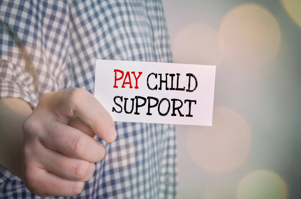 How can i modify my arrears monthly payment for child support?
